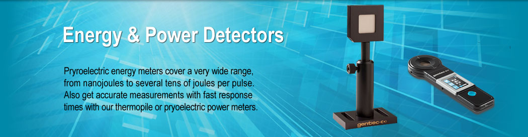 Energy & Power Detectors